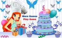 Готовить торт с Блум